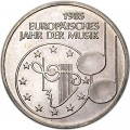 5 mark 1985 Germany European Year of Music