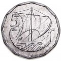 5 милс 1981 Кипр, из обращения