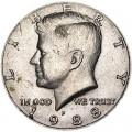 50 центов 1988 США Кеннеди двор P
