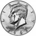 50 cents (Half Dollar) 1999 USA Kennedy mint mark D