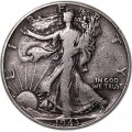 Half Dollar 1943 USA Liberty Walking mint P
