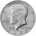 50 центов 1983 США Кеннеди двор D