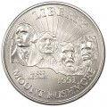 50 Cent 1991 USA Mount Rushmore UNC