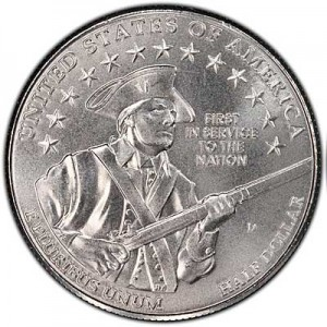 50 cents (Half Dollar) 2011 USA United States Army UNC