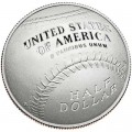 Half Dollar 2014 USA National Baseball der Ruhmeshalle, minze S, Proof