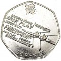 50 pence 2011 UK, London 2012 Rowing