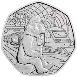 50 pence 2018 United Kingdom, Paddington at the Station