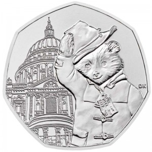 50 pence 2019 United Kingdom, Paddington at St Paul's