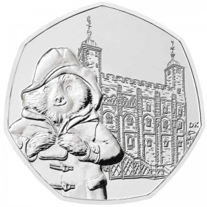 50 pence 2019 United Kingdom, Paddington at the Tower