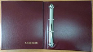 Album Collection without sheets, size GRANDE (burgundy)