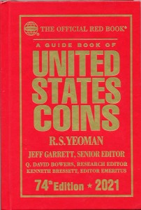 Catalog of USA coins 2021 Red Book