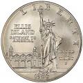 1 доллар 1986 100 лет Статуе Свободы, серебро UNC