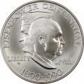 1 доллар 1990 США 100 лет Эйзенхауэру, серебро UNC