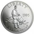 50 центов 1995 США Гражданская война UNC