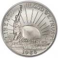 50 центов 1986 100 лет Статуе Свободы, UNC