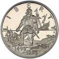 50 центов 1992 США 500-летие путешествия Колумба, proof