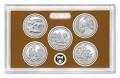 Набор 25 центов 2017 США Национальные парки (1 пластина) пруф, двор S, никель