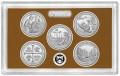 Набор 25 центов 2019 США Национальные парки (1 пластина) пруф, двор S, никель