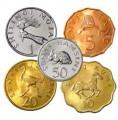 Набор монет Танзании, 1979-1992 5 монет