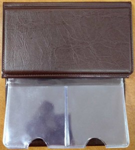 Album for 12 Coins in Holders (brown)