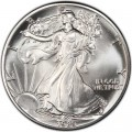 1 доллар 1989 США Шагающая Свобода, серебро UNC
