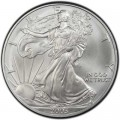 1 доллар 2003 США Шагающая Свобода, серебро UNC