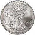 1 доллар 2006 США Шагающая Свобода, серебро UNC