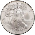 1 доллар 2008 США Шагающая Свобода, серебро UNC