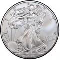 1 доллар 2011 США Шагающая Свобода, серебро UNC