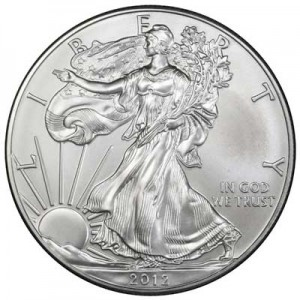 American Eagle 2012 One Ounce  Uncirculated Coin, silver
