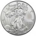 1 доллар 2012 США Шагающая Свобода, серебро UNC