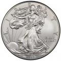 1 доллар 2014 США Шагающая Свобода, серебро UNC