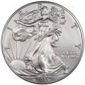 1 доллар 2015 США Шагающая Свобода, серебро UNC