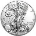 1 доллар 2016 США Шагающая Свобода, серебро UNC