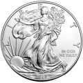 1 доллар 2017 США Шагающая Свобода, серебро UNC