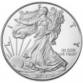 1 доллар 2018 США Шагающая Свобода, серебро UNC