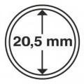 Капсула для монет 20.5 мм, CoinsMoscow
