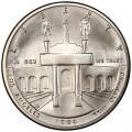 1 доллар 1984 США Олимпийский Колизей,  UNC, серебро