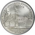1 доллар 1994 США Музей военнопленных, серебро UNC