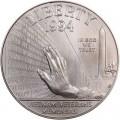 1 доллар 1994 Мемориал Ветеранам Вьетнама, серебро UNC