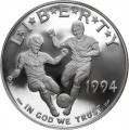 Dollar 1994 USA World Cup Silber proof