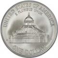 1 доллар 2000 Двухсотлетие Библиотеки Конгресса, серебро UNC
