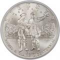 1 доллар 2004 Льюис и Кларк, серебро UNC