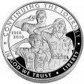 Dollar 2010 Boy scouts of America Centennial silver proof