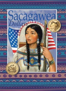 Folder (album) for Sacagawea dollar coins