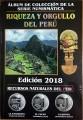 Set 1 sol 2010-2016 series The wealth and pride of Peru, 26 coins in album