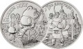 Set 25 roubles 2017 MMD Russian animation, 2 coins