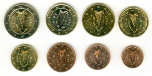 Euro coin set Ireland 2015 (8 coins)