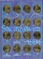 Set of USA Sacagawea 1 dollar 2000-2020, 21 coins in album